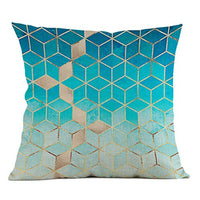 "Iuhan Throw Pillow Case Cushion Cover, Fashion Geometric Pillow Case Waist Cushion Cover Sofa Home Decor 18"" x 18"" 45cm x 45cm (I)"