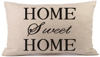 Home Sweet Home Rectangle Pillow Covers Decorative 12x20 Rectangle Throw Pillows for Couch Farmhouse Cushion Covers