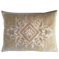 Solid Diamond-Ivy Beige Farm-Garden-Porch-Patio Lumbar Pillow Case/Cushion Cover