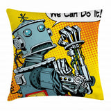Ambesonne Throw Pillow Cover Decorative for Living Room Bedroom & Office