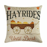 Rustic Christmas Cushion Cover Pillow Case Linen 18 x in Case Farmhouse Noel