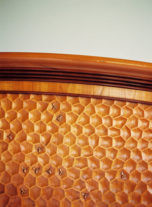 Bee & Comb King Bed - FWeixlerCo