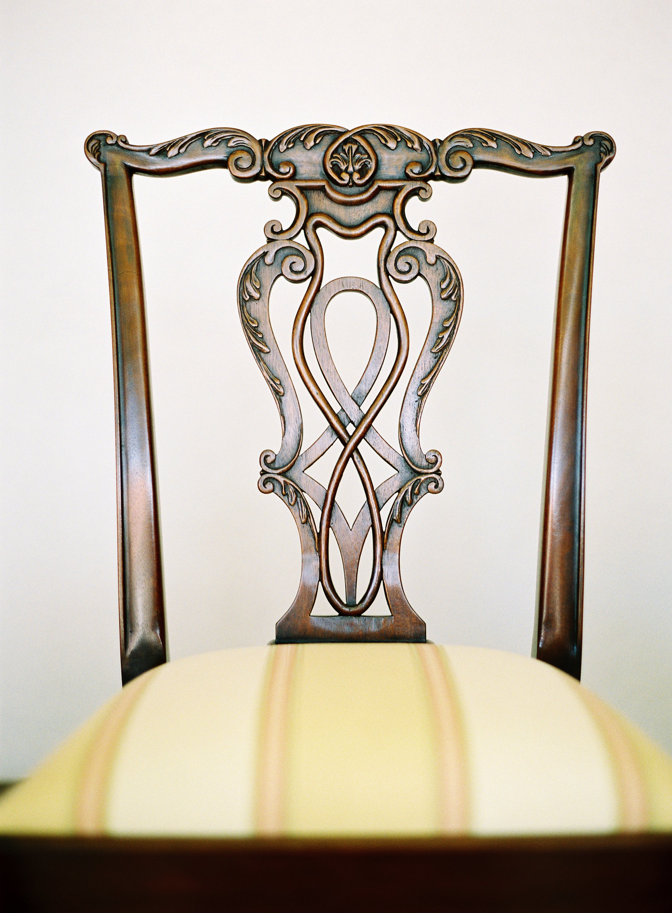 Carved Chippendale Chair - FWeixlerCo