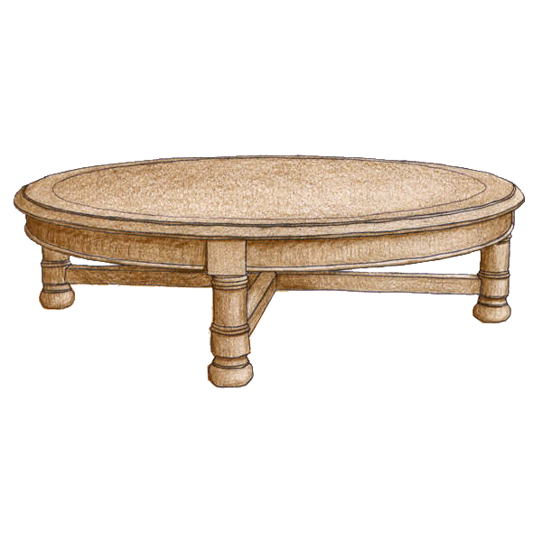 Coffee Table #3700 - FWeixlerCo