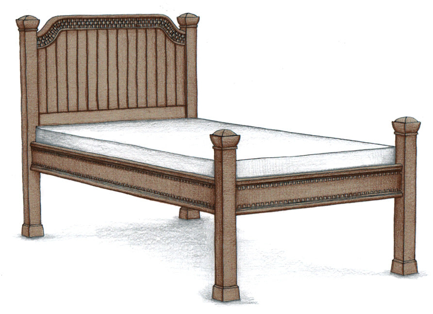Twin Bed #5070 - FWeixlerCo