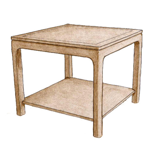 End Table #3930 - FWeixlerCo