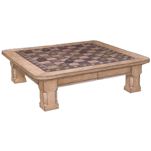 Game Table #3600 - FWeixlerCo