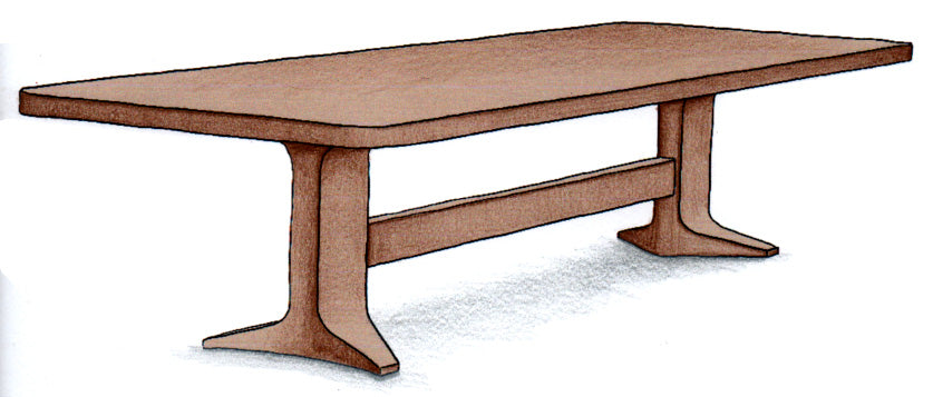 Modern Dining Table - FWeixlerCo
