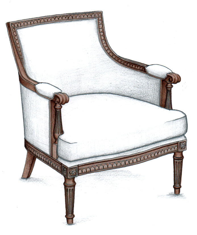 Indianapolis Arm Chair - FWeixlerCo