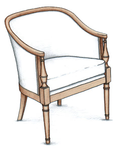 Indianapolis Tub Chair - FWeixlerCo