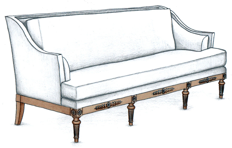 Indianapolis Long Sofa - FWeixlerCo