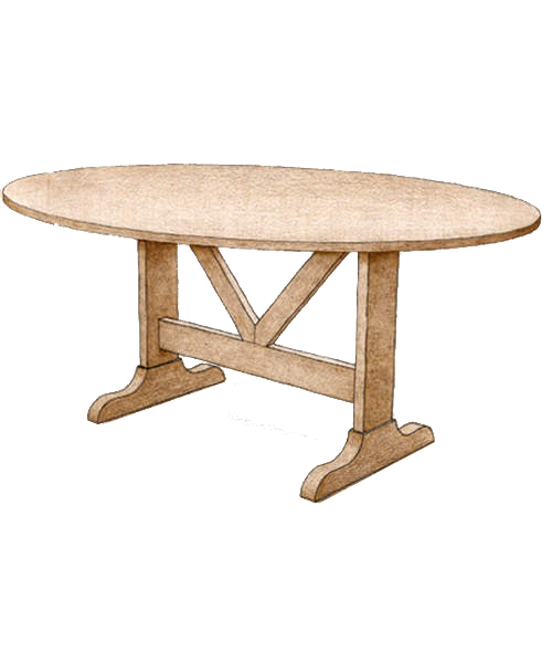 Coffee Table #3720 - FWeixlerCo