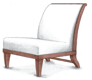 Slipper Chair 2 - FWeixlerCo