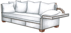 Ratchet Arm Sofa - FWeixlerCo