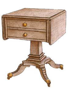 End Table #3985 - FWeixlerCo