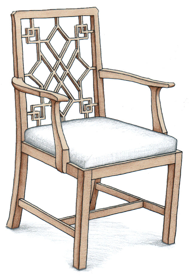 Chinese Chippendale Chair - FWeixlerCo