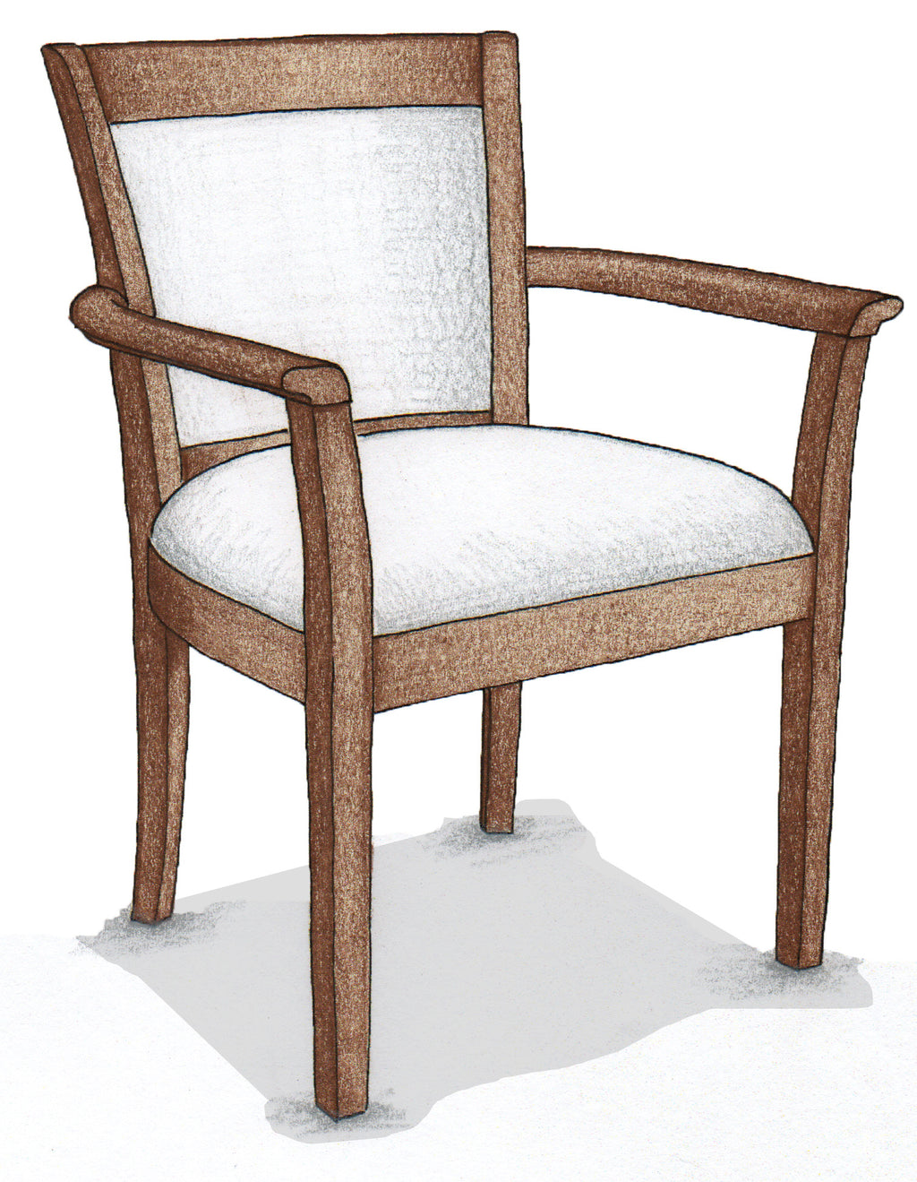 Open Arm Chair - FWeixlerCo