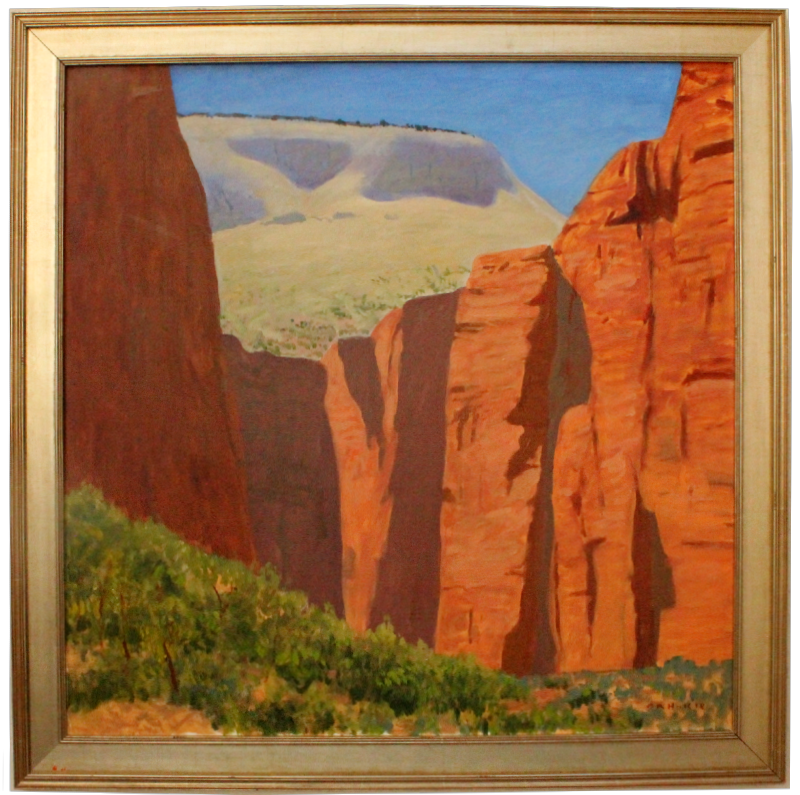 Cliffs in Zion - FWeixlerCo