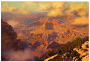 Passing Showers - Grand Canyon - FWeixlerCo