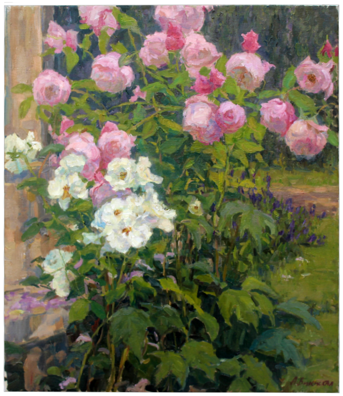 Roses in the Garden - FWeixlerCo