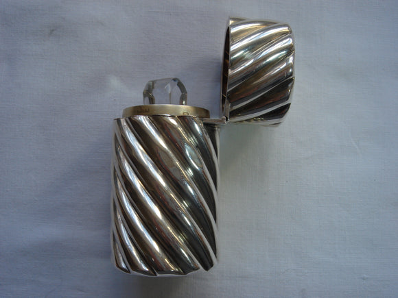 Large Silver Sampson Mordan Scent Bottle