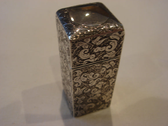 Sampson Mordan Silver Scent Bottle