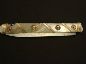 Napoleonic Officers Campaign Knife & Corkscrew