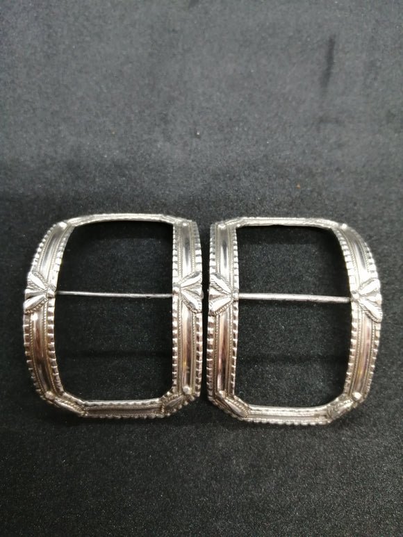 Pair of Silver Buckles c 1800