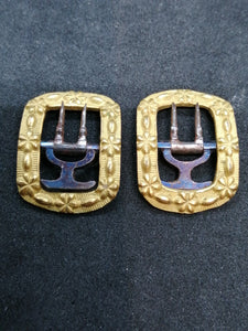 Georgian Pinchbeck Buckles