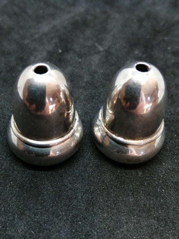 Miniature Silver Salt Shakers
