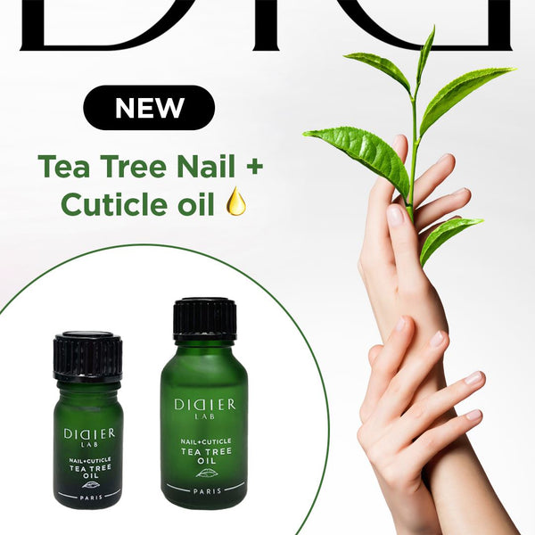 Nail Cuticle Oil Didier Lab, Tea Tree, 15ml