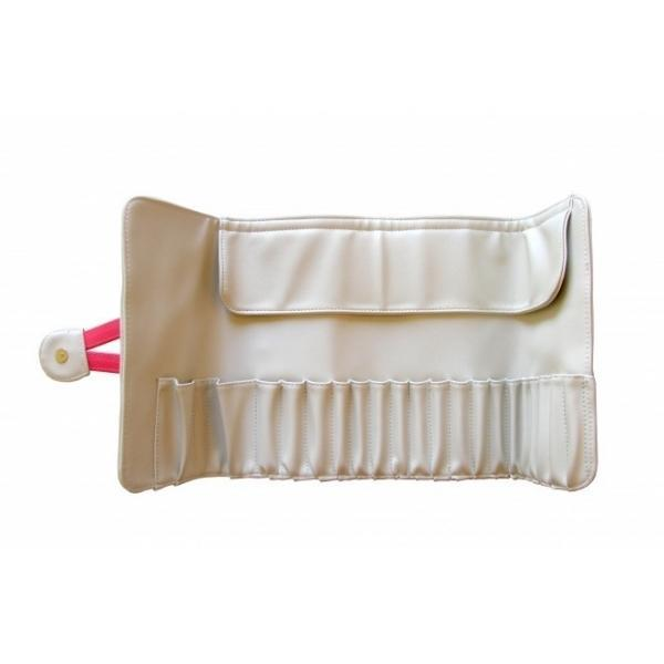 "Didierlab Cosmetic bags and luggage Brush bag ""Didier Lab"", white, 25x51cm"