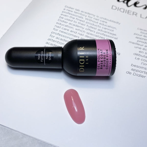 """Didier Lab"" Rubber base coat, cover pink 10ml"