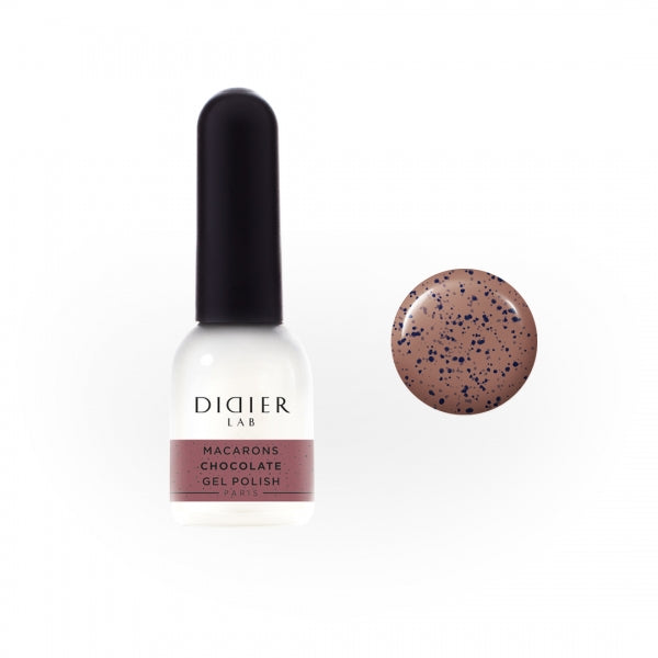 Macarons Gel Polish Didier Lab 'Chocolate'