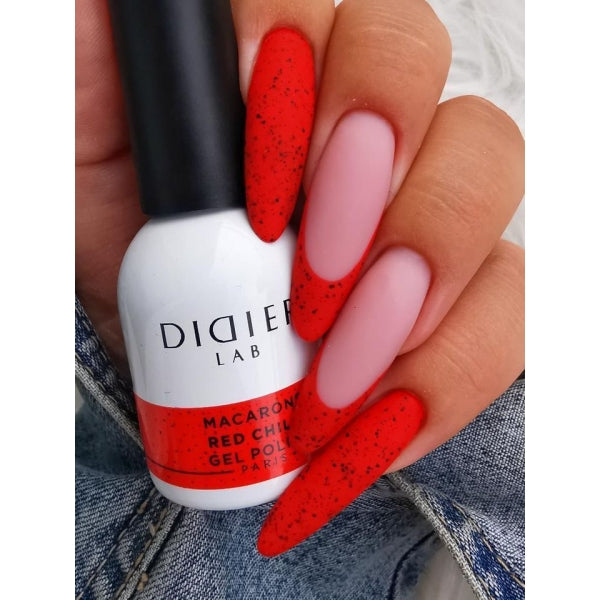 Macarons Gel Polish Didier Lab 'Red Chilli'