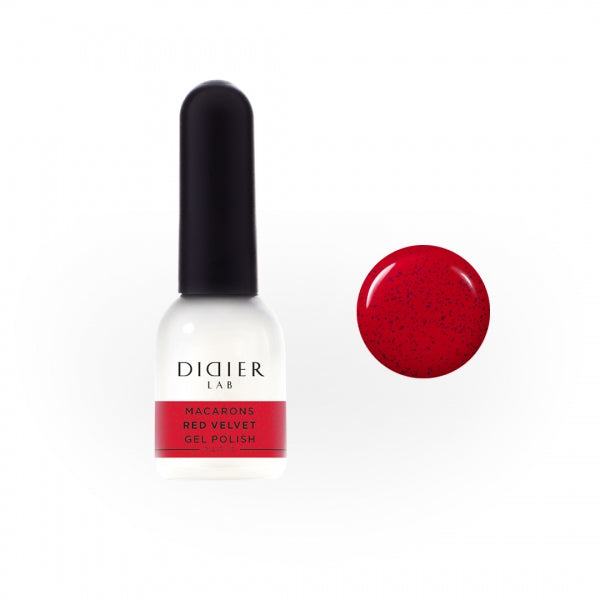 Macarons Gel Polish Didier Lab 'Red Velvet'
