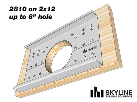 Skyline-joist-hole-reinforcement-bracket-on-2x12