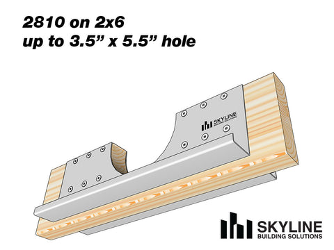 Skyline-Joist-hole-reinforcer-plate-on-2x6
