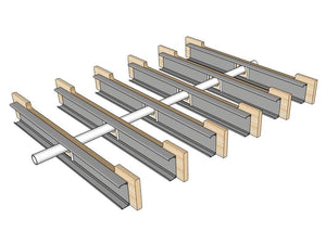 "Skyline Building Solutions Strongback Joist Reinforcer - 14Ga - 7.25"" x 60"""