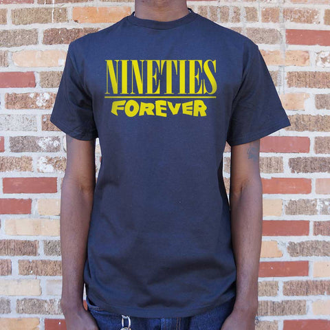 Nineties Forever T-Shirt (Mens) - Twin Carbon Clothing Co.