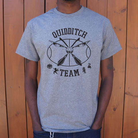 Quidditch Team Snitch T-Shirt (Mens) - Twin Carbon Clothing Co.