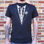 Hangover Tuxedo T-Shirt (Mens) - Twin Carbon Clothing Co.