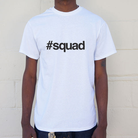 Hashtag Squad T-Shirt (Mens) - Twin Carbon Clothing Co.