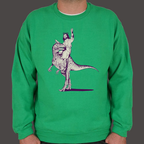 Jesus Lizard Sweater (Mens) - Twin Carbon Clothing Co.