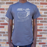 Lab Safety Superpowers T-Shirt (Mens) - Twin Carbon Clothing Co.