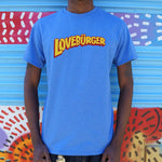 Loveburger T-Shirt (Mens) - Twin Carbon Clothing Co.