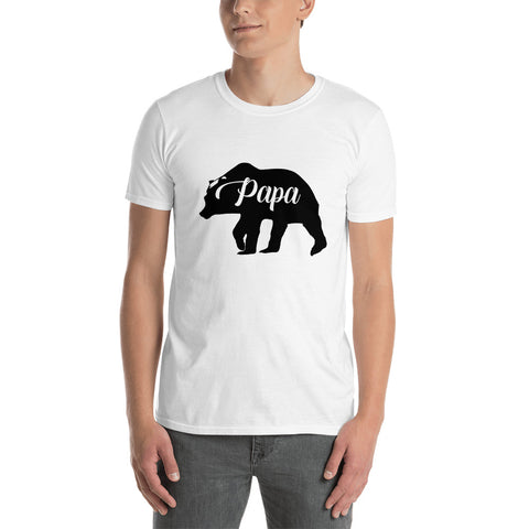 Papa Bear (CT-B1) Short-Sleeve Unisex T-Shirt - Twin Carbon Clothing Co.