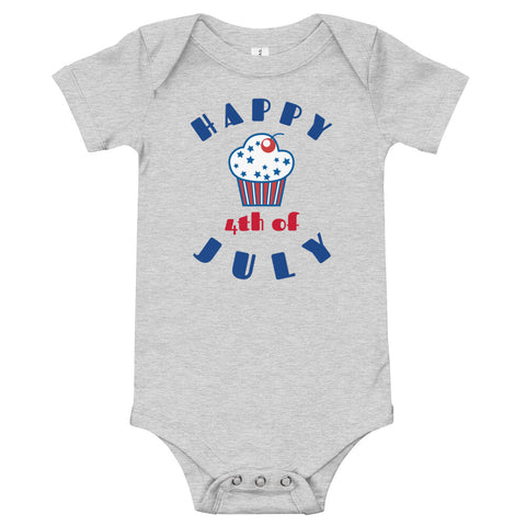4th of July (3) Baby Onesie - Twin Carbon Clothing Co.