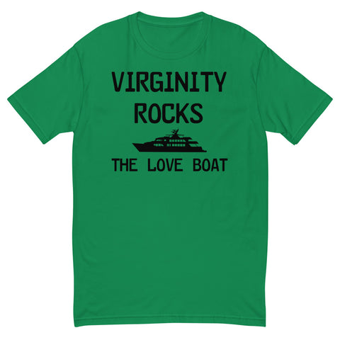 Virginity Rocks the Love Boat T-shirt - Twin Carbon Clothing Co.