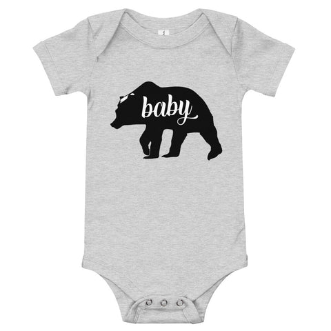 Baby Bear Onesie - Twin Carbon Clothing Co.